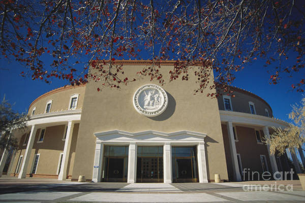 Wall Art - Photograph - New Mexico State Capitol by Spencer Grant