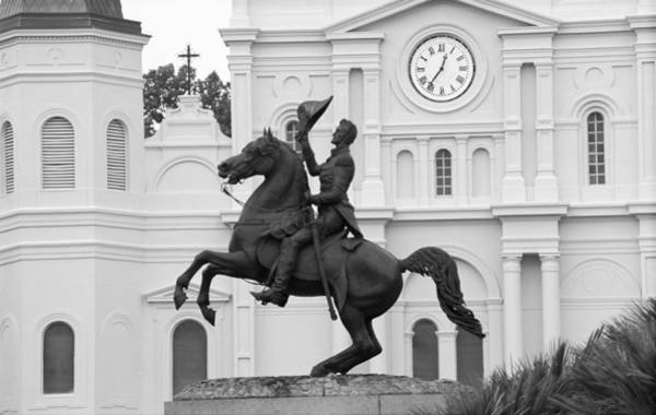 Photograph - New Orleans - Jackson Square 3 by Frank Romeo