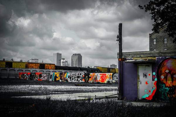 Photograph - New Orleans Skyline From The Creative Part Of Town by Louis Maistros