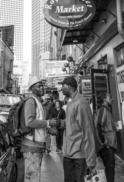 Photograph - New Orleans Street Scene by Louis Maistros