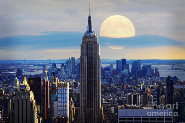 Metropolis Mixed Media - New York City by Celestial Images