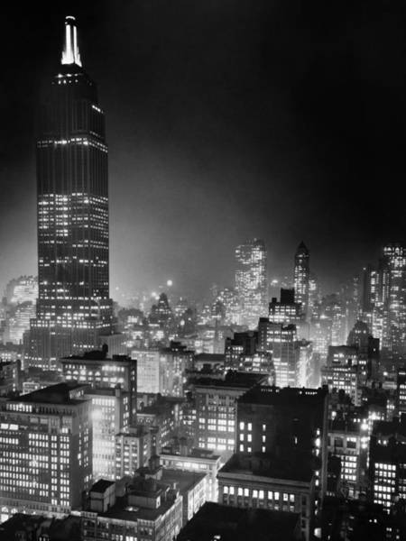 Wall Art - Photograph - New York City, C1937 by Granger