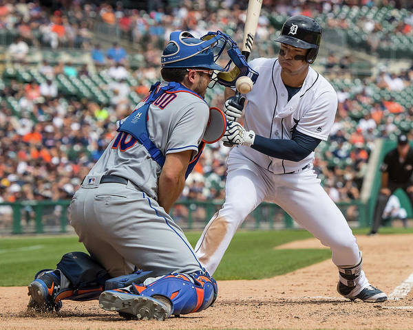 Major League Baseball Photograph - New York Mets V Detroit Tigers by Dave Reginek