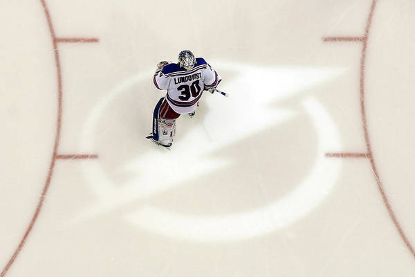 Nhl Photograph - New York Rangers V Tampa Bay Lightning by Mike Carlson