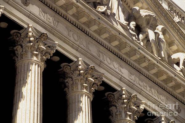 New York Stock Exchange Wall Art - Photograph - New York Stock Exchange by Jon Neidert