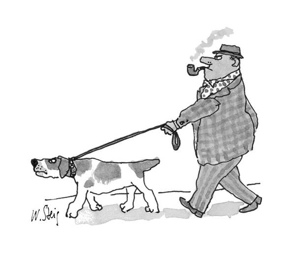 Single Drawing - New Yorker November 15th, 1993 by William Steig
