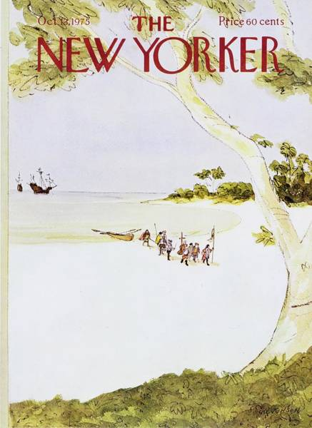 Wall Art - Painting - New Yorker October 13th 1975 by James Stevenson
