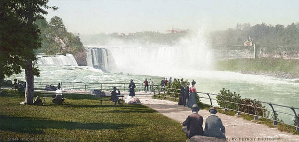 Photograph - Niagara Falls, C1901 by Granger