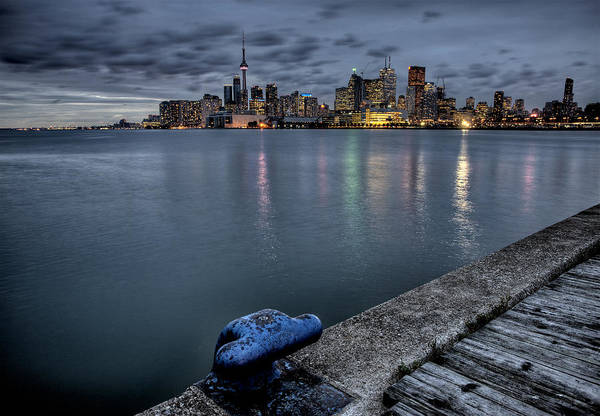 Wall Art - Photograph - Night Shot Toronto City by Mark Duffy
