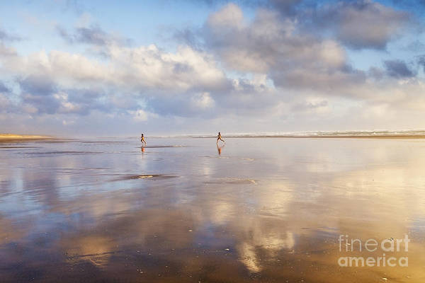 Wall Art - Photograph - Ninety Mile Beach Northland New Zealand by Colin and Linda McKie