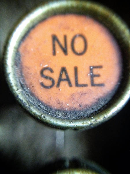 Photograph - No Sale by Natasha Marco