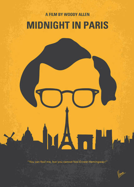 No312 My Manhattan Minimal Movie Poster Art Print