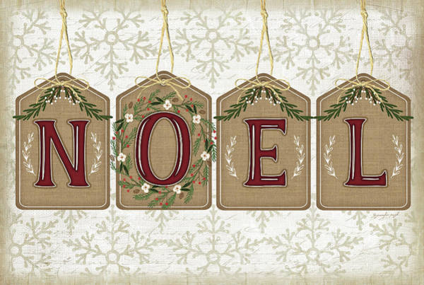 Wall Art - Painting - Noel by Jennifer Pugh