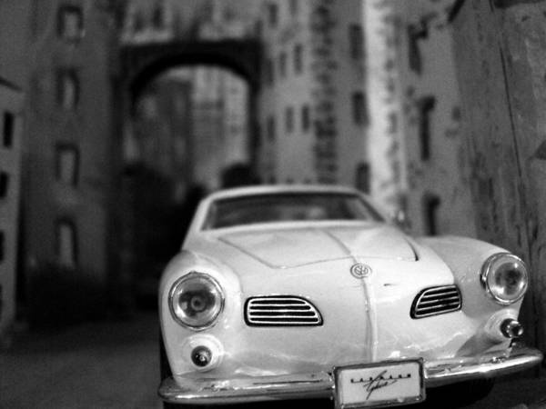 Wall Art - Photograph - Volkswagen Carmen Ghia by Salman Ravish