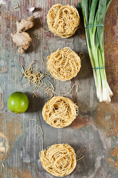 Asian Food Photograph - Noodles by Tom Gowanlock