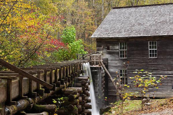 Mingus Mill Photograph - North Carolina, Great Smoky Mountains by Walter Bibikow