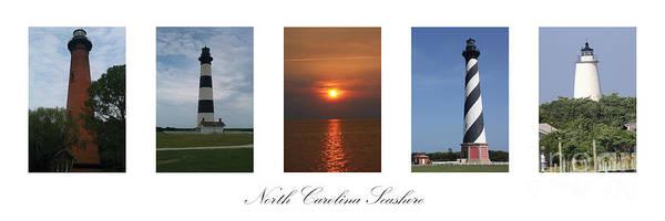 Ocracoke Lighthouse Photograph - North Carolina Seashore by Tony Cooper