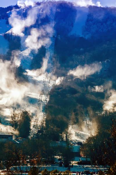 Photograph - North Carolina Sugar Mountain Ski Resort Winter 2014 by Alex Grichenko