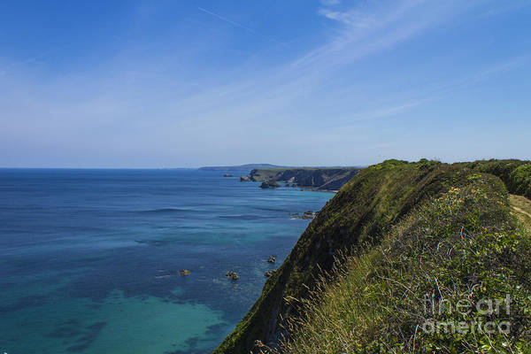 Photograph - Photographs Of Cornwall North Coast Cornwall by Brian Roscorla