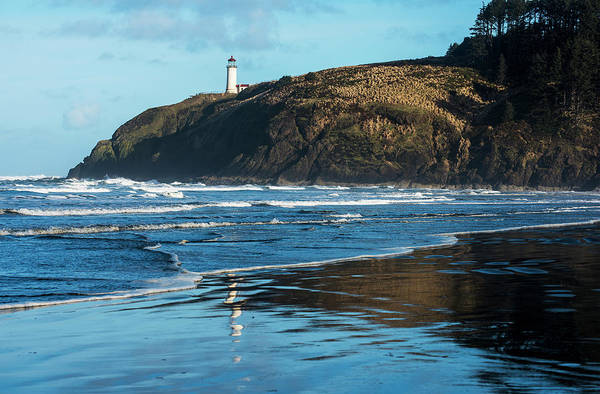 Wall Art - Photograph - North Head Lighthouse Is Found At Cape by Robert L. Potts