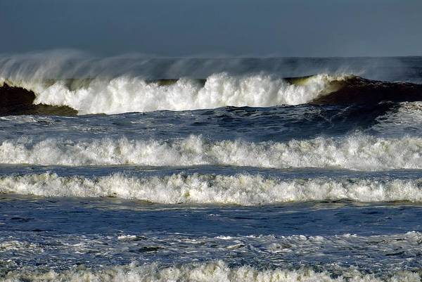 Wall Art - Photograph - North Sea Storm Surge by Simon Fraser/science Photo Library