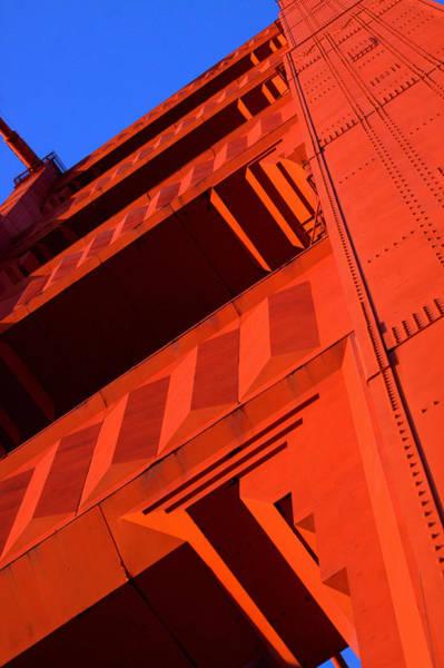 Photograph - North Tower Golden Gate Bridge by John King