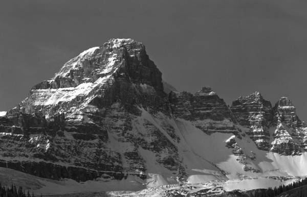 Photograph - 1m3772-e-bw-northeast Face Diadem Peak by Ed  Cooper Photography