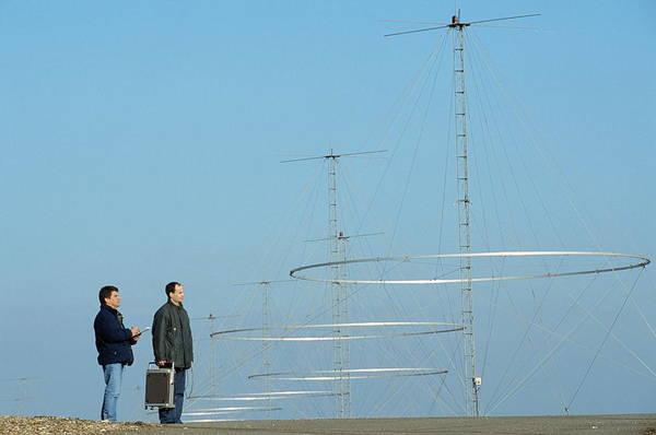Maintenance Photograph - Nostradamus Radar System by Philippe Psaila/science Photo Library