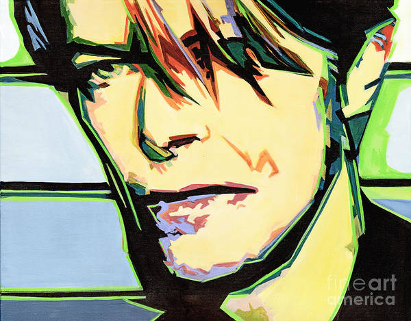 Painting - David Bowie by Tanya Filichkin