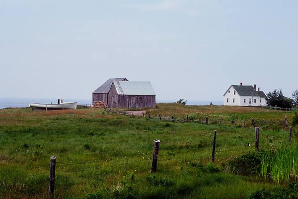 Cabot Trail Photograph - Nova Scotia Farm by Tom Wilder