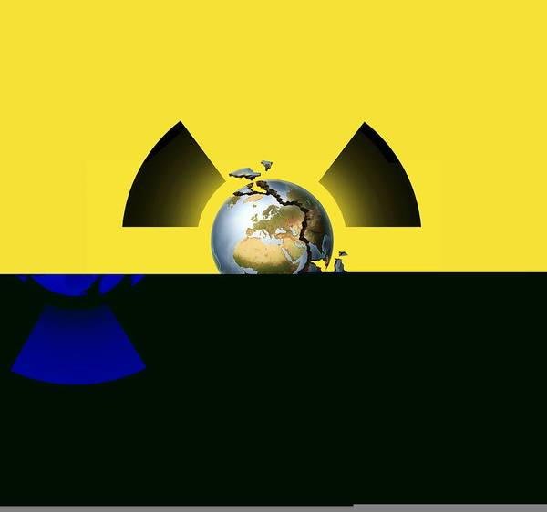 Half Life Photograph - Nuclear Disaster, Conceptual Artwork by Science Photo Library