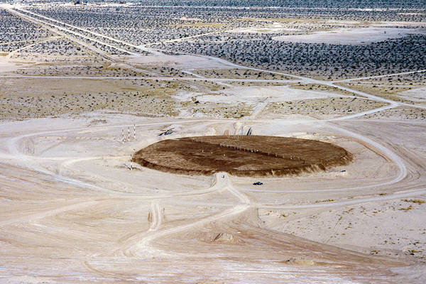 Yuma Photograph - Nuclear Missile Silo Test Site by Us National Archives