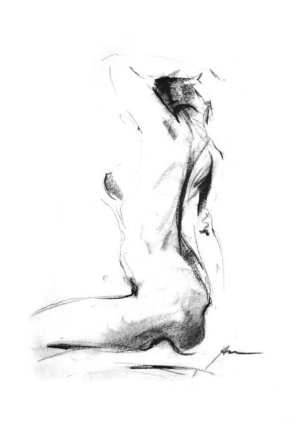 Nude Drawing - Nude 006 by Ani Gallery