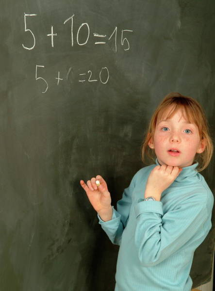 Classroom Photograph - Numeracy by Cc Studio/science Photo Library