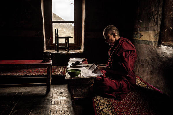 Buddhism Photograph - Nun's World by Marco Tagliarino
