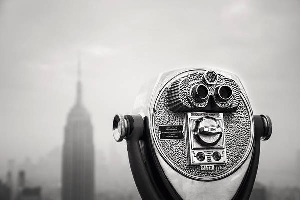 Monument Photograph - Nyc Viewpoint by Nina Papiorek