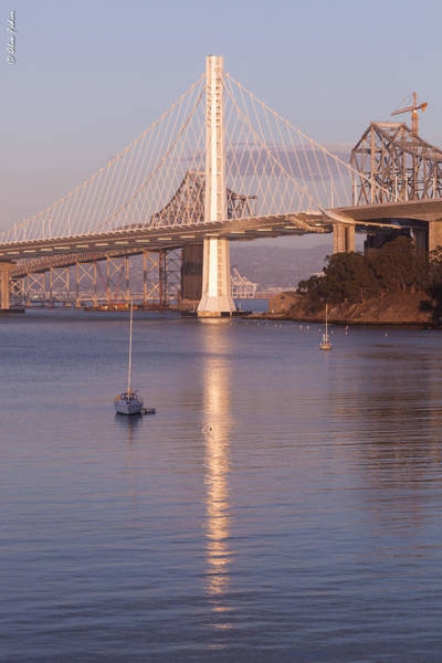 Photograph - Oakland Bridge by Alexander Fedin