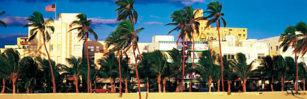 Leisurely Photograph - Ocean Drive South Beach Miami Beach Fl by Panoramic Images