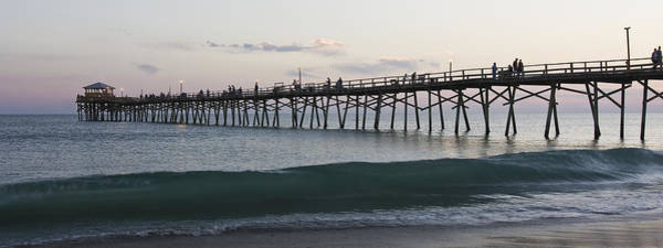 Photograph - Oceanana Fishing Pier by Bob Decker