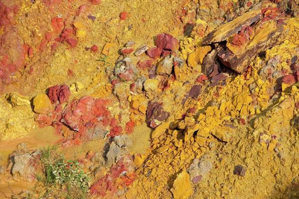 Deposits Wall Art - Photograph - Ochre Quarry by Philippe Psaila/science Photo Library