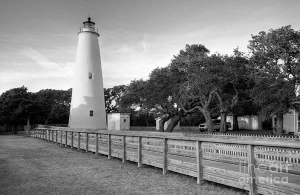 Ocracoke Lighthouse Photograph - Ocracoke Last Light - Outer Banks by Dan Carmichael