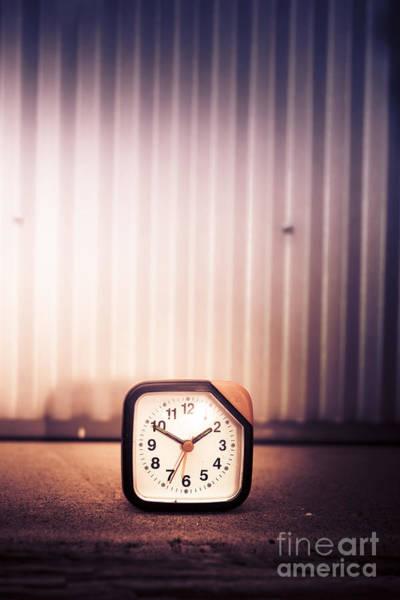 Alarm Clock Photograph - Old Analog Clock by Jorgo Photography - Wall Art Gallery