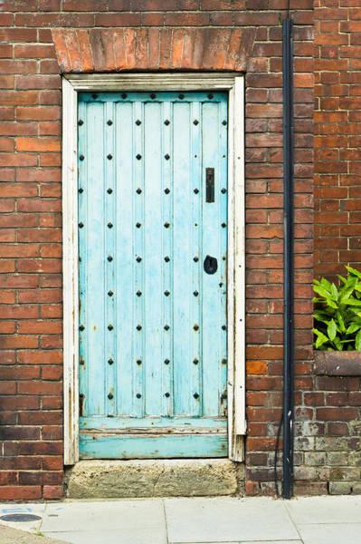 Door Wall Art - Photograph - Old Blue Door by Tom Gowanlock