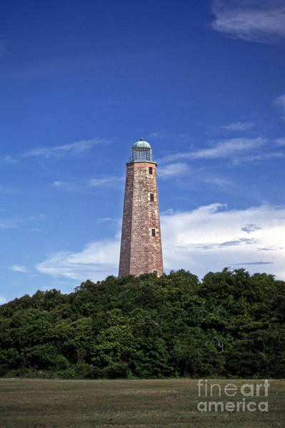 Virginia Lighthouse Photograph - Old Cape Henry Lighthouse by Skip Willits