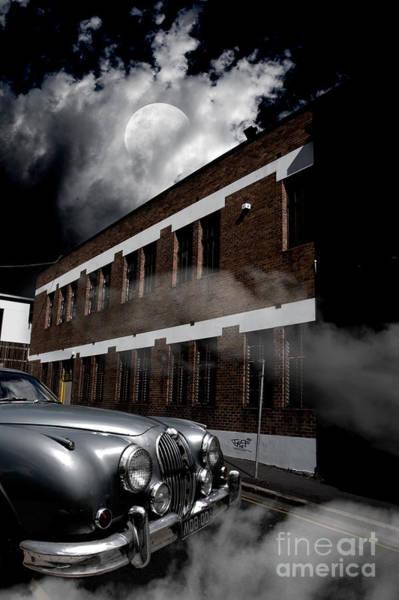 Dim Photograph - Old Car Near Building by Jorgo Photography - Wall Art Gallery