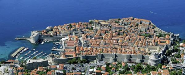 Dubrovnik Photograph - Old City Of Dubrovnik by Tony Craddock/science Photo Library