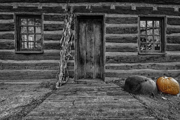 Photograph - Old Cottage by Peter Lakomy