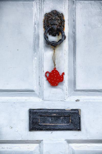 Mail Slot Photograph - Old Door by Joana Kruse