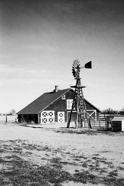 Photograph - Old Farm by HW Kateley