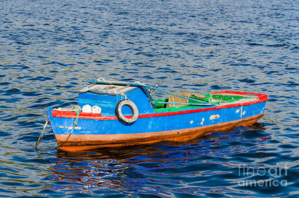 Photograph - Old Fishing Boat by Les Palenik
